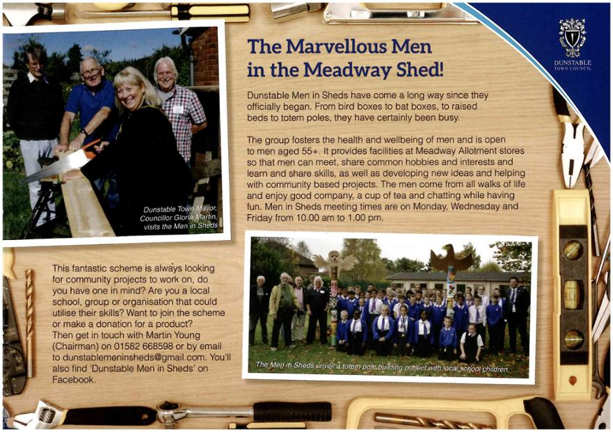 Talk of the Town - Men in Sheds